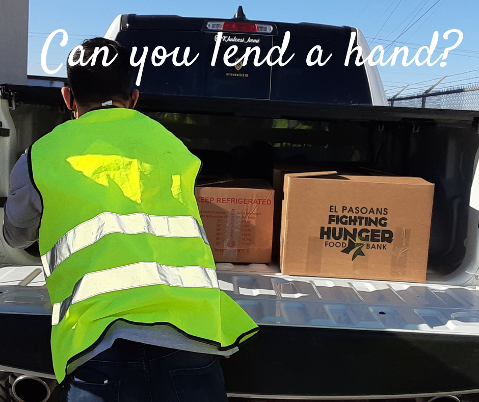 ​Can you lend a hand?