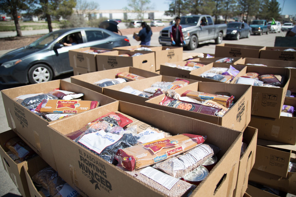 El Pasoans Fighting Hunger Food Bank's Response to COVID-19 (Coronavirus)