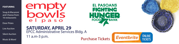 El Pasoans Fighting Hunger - Empty Bowls Event