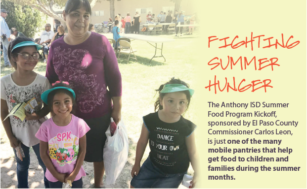 Feeding Hope! Summer 2017 Newsletter