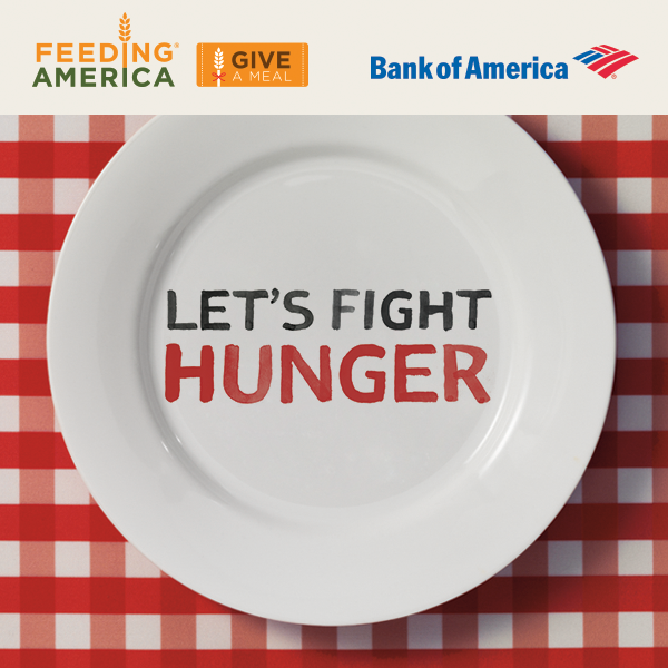 Give A Meal with Bank of America