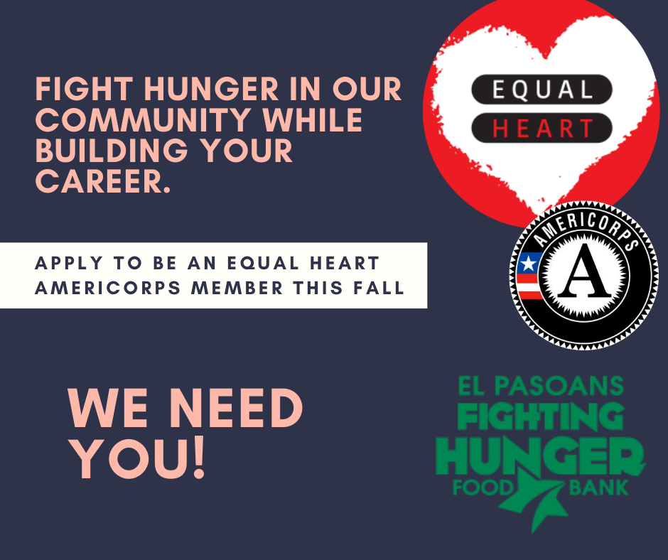 Looking for a Job? Apply to be an Equal Heart AmeriCorps Member
