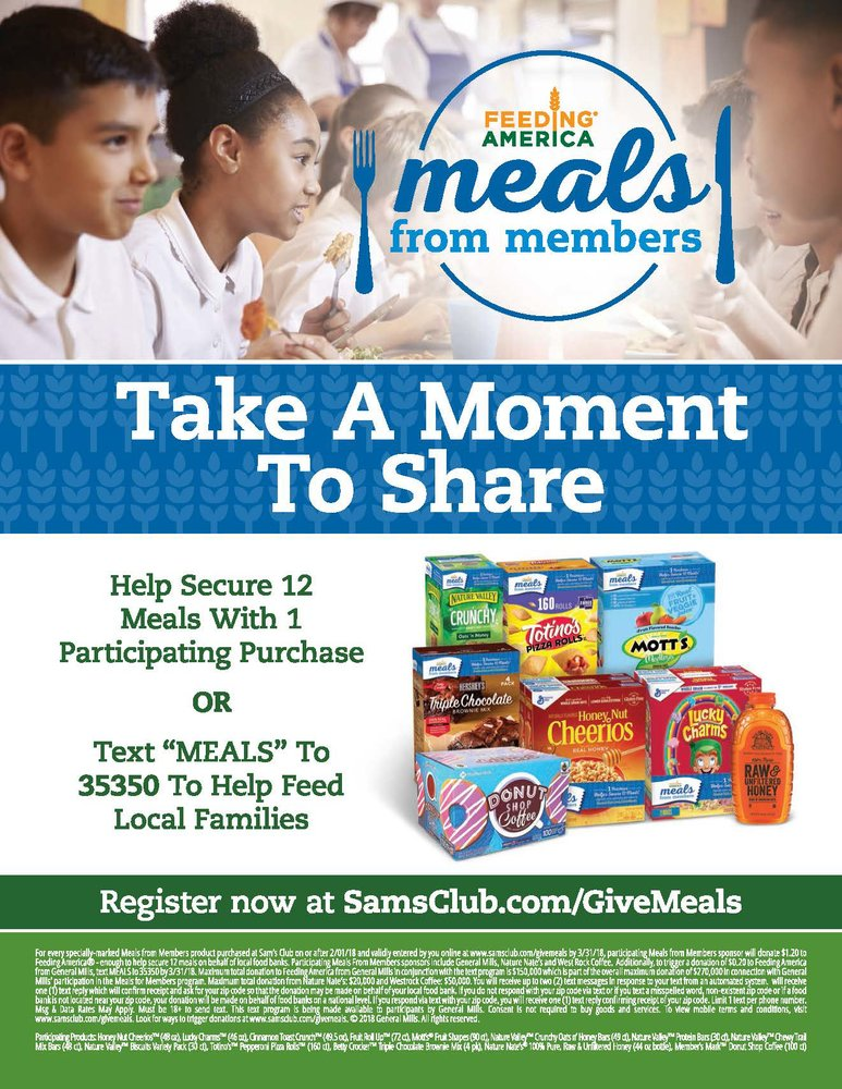 Sam's Club Meals from Members