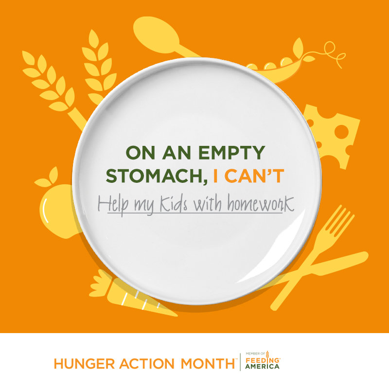 September is Hunger Action Month: No Child Should Go Hungry