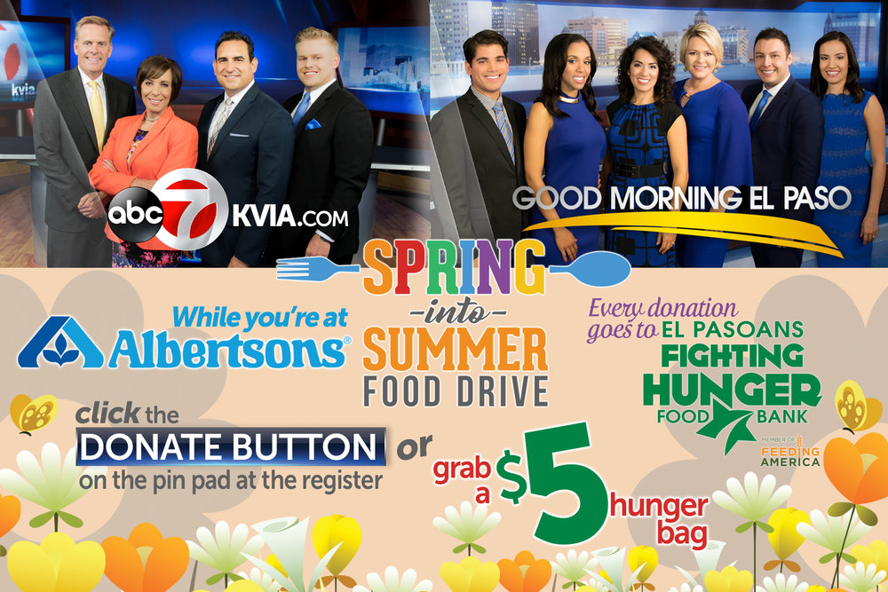 Spring Into Summer Food Drive