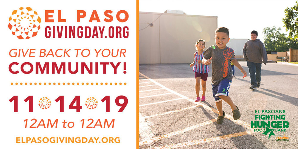Support El Pasoans Fighting Hunger on El Paso Giving Day!
