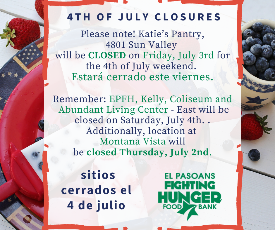 Take Note: 4th of July Closures