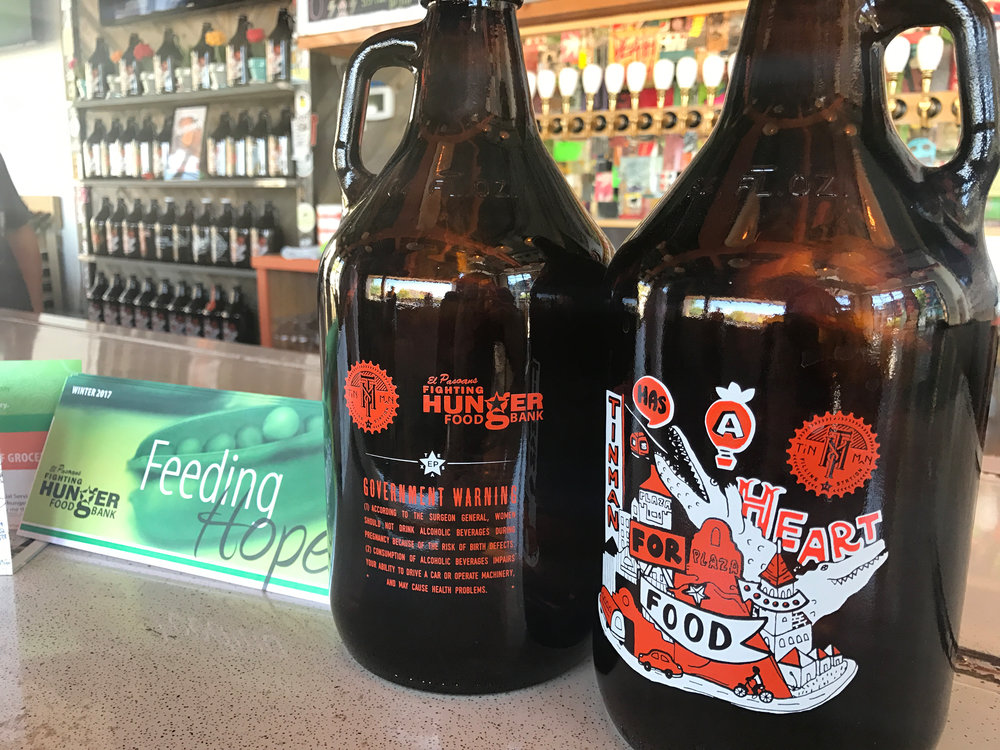 Tin Man Unveils a Heart For Food: Growler Proceeds Benefit El Pasoans Fighting Hunger