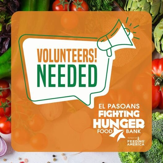 ​VOLUNTEERS NEEDED!